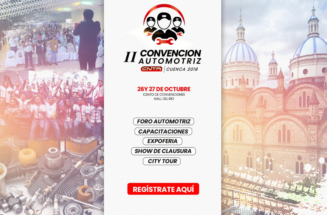 II convención automotriz CNTA 2019