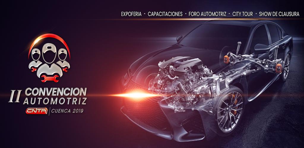 II Convencion Automotriz CNTA «CUENCA 2019»